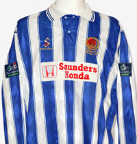 Club colours 1996 2000 for Conference table 1998 99