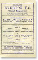 Everton v Chester 1944